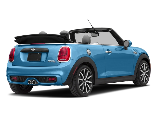 Electric Blue Metallic 2018 MINI Convertible Pictures Convertible Cooper S FWD photos rear view