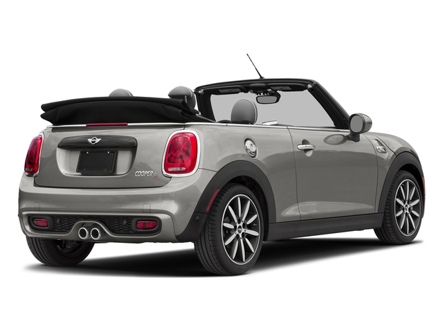 Melting Silver Metallic 2018 MINI Convertible Pictures Convertible Cooper S FWD photos rear view