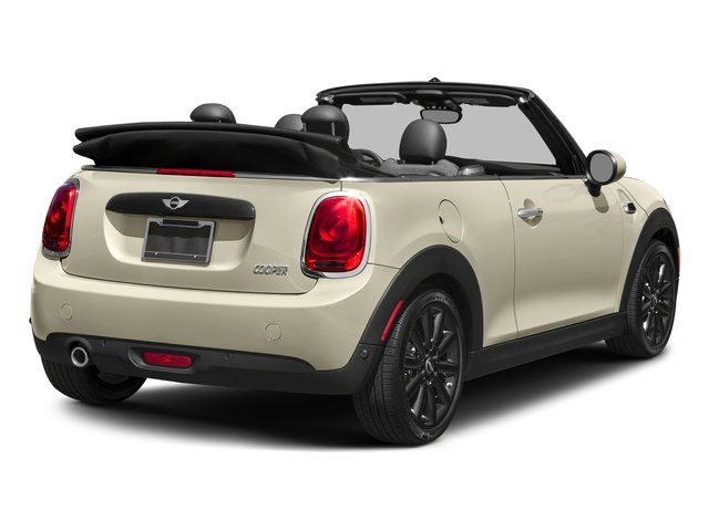 Pepper White 2018 MINI Convertible Pictures Convertible Cooper FWD photos rear view