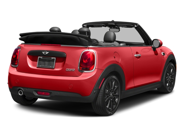 Chili Red 2018 MINI Convertible Pictures Convertible Cooper FWD photos rear view
