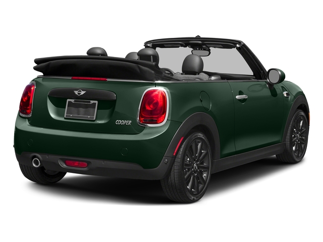 British Racing Green Metallic 2018 MINI Convertible Pictures Convertible Cooper FWD photos rear view