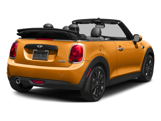 Volcanic Orange 2018 MINI Convertible Pictures Convertible Cooper FWD photos rear view