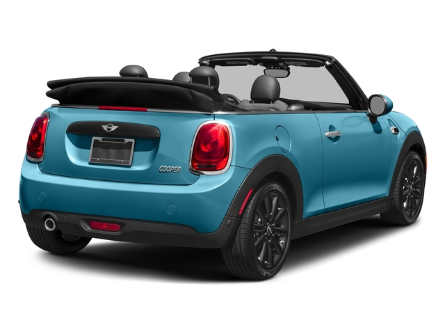 Caribbean Aqua Metallic 2018 MINI Convertible Pictures Convertible Cooper FWD photos rear view