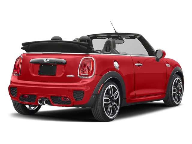 Chili Red 2018 MINI Convertible Pictures Convertible Convertible 2D JCW I4 Turbo photos rear view