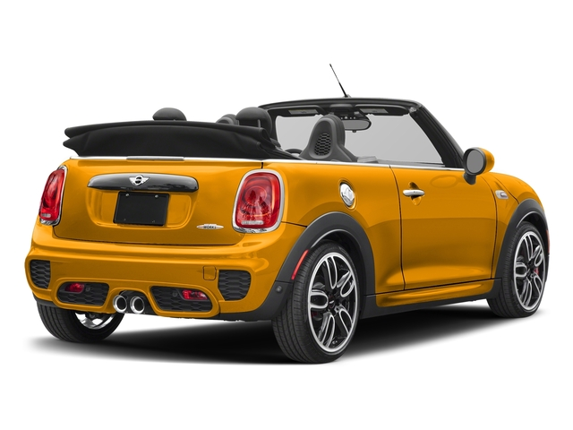 Volcanic Orange 2018 MINI Convertible Pictures Convertible Convertible 2D JCW I4 Turbo photos rear view