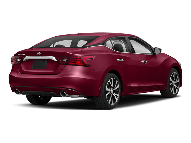 Carnelian Red 2018 Nissan Maxima Pictures Maxima S 3.5L photos rear view