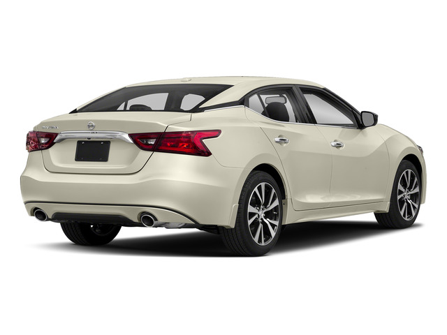 Pearl White 2018 Nissan Maxima Pictures Maxima S 3.5L photos rear view