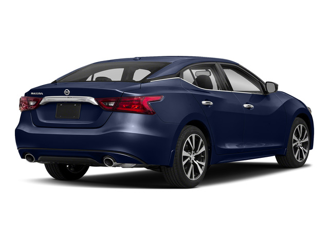 Deep Blue Pearl 2018 Nissan Maxima Pictures Maxima S 3.5L photos rear view