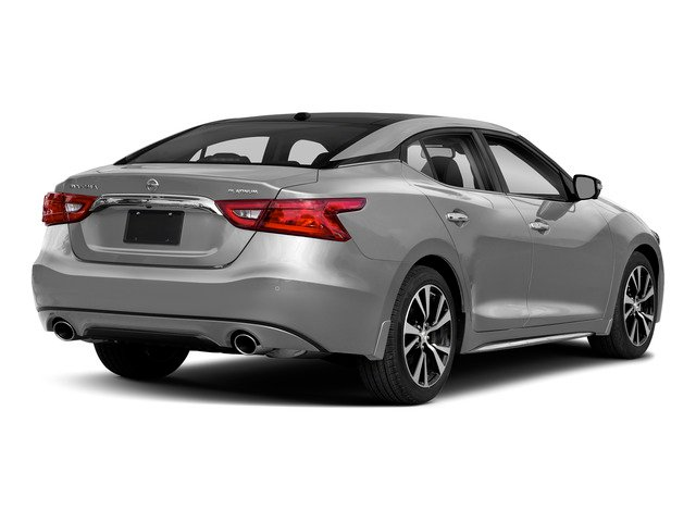 Brilliant Silver 2018 Nissan Maxima Pictures Maxima Platinum 3.5L photos rear view