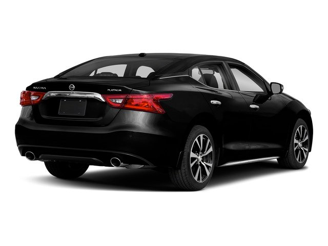 Super Black 2018 Nissan Maxima Pictures Maxima Platinum 3.5L photos rear view