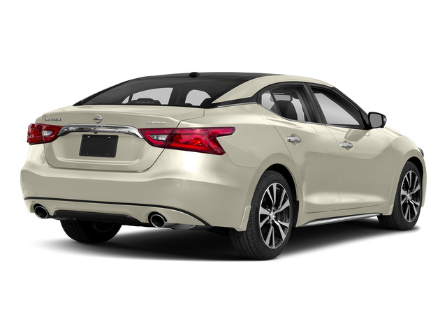 Pearl White 2018 Nissan Maxima Pictures Maxima Platinum 3.5L photos rear view