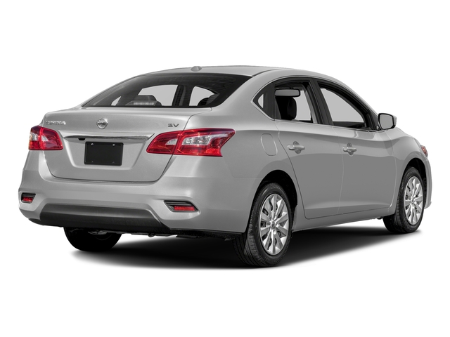 Brilliant Silver 2018 Nissan Sentra Pictures Sentra S CVT photos rear view