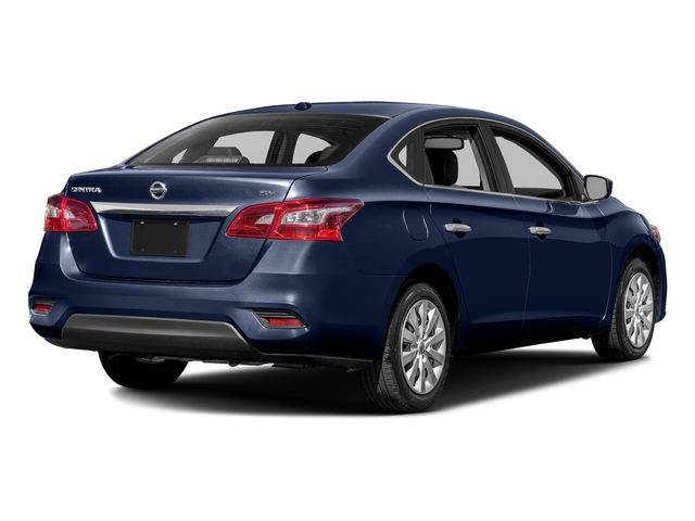 Deep Blue Pearl 2018 Nissan Sentra Pictures Sentra S CVT photos rear view
