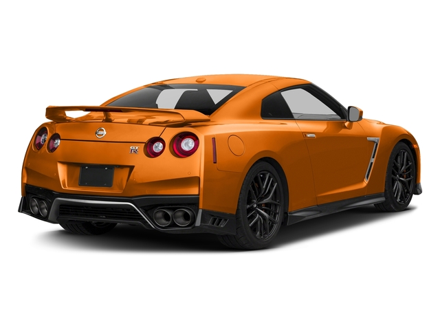 Blaze Metallic 2018 Nissan GT-R Pictures GT-R Track Edition AWD photos rear view