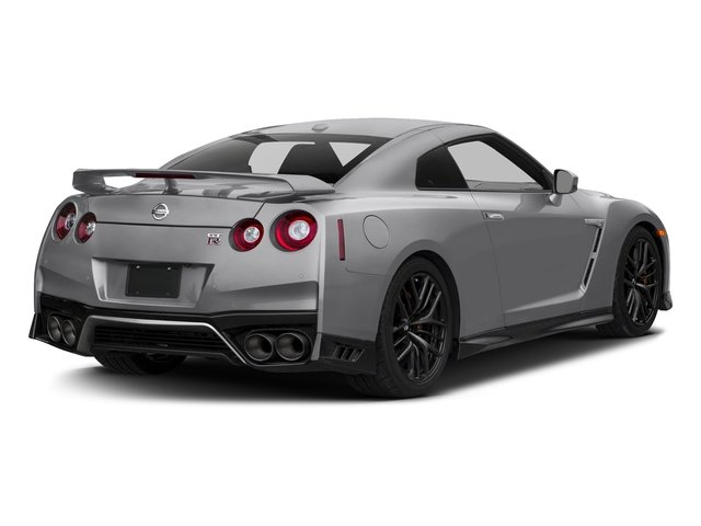 Super Silver Metallic 2018 Nissan GT-R Pictures GT-R Track Edition AWD photos rear view