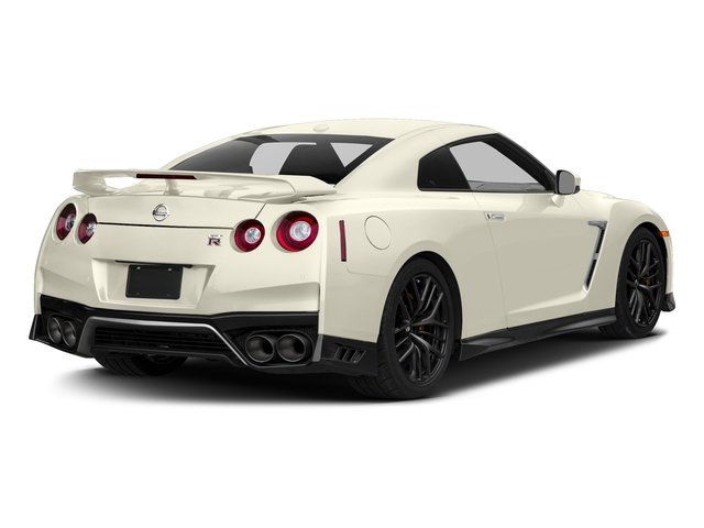 Pearl White 2018 Nissan GT-R Pictures GT-R Track Edition AWD photos rear view
