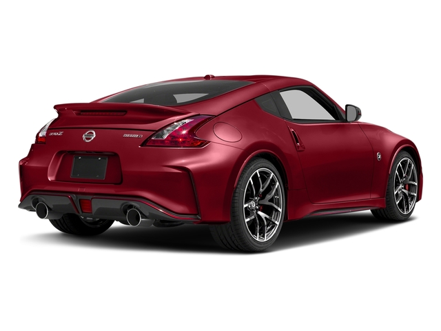 Solid Red 2018 Nissan 370Z Coupe Pictures 370Z Coupe NISMO Auto photos rear view
