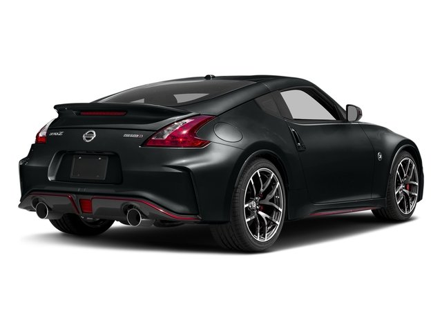 Magnetic Black 2018 Nissan 370Z Coupe Pictures 370Z Coupe NISMO Auto photos rear view