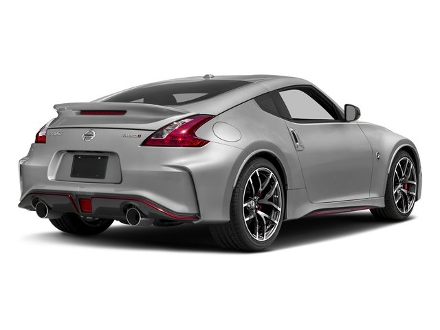 Brilliant Silver 2018 Nissan 370Z Coupe Pictures 370Z Coupe NISMO Auto photos rear view