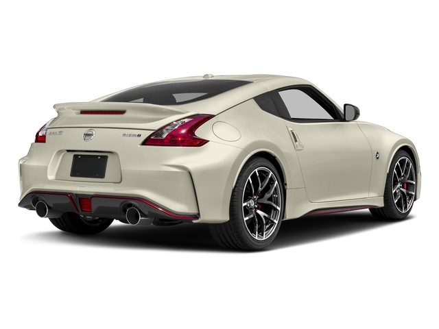 Pearl White 2018 Nissan 370Z Coupe Pictures 370Z Coupe NISMO Auto photos rear view