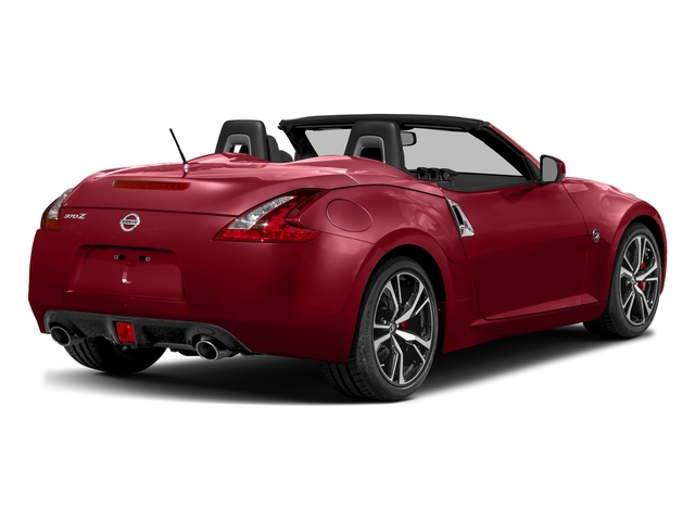 Solid Red 2018 Nissan 370Z Roadster Pictures 370Z Roadster Touring Auto photos rear view