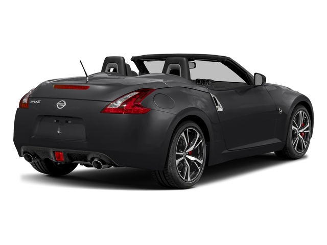 Magnetic Black 2018 Nissan 370Z Roadster Pictures 370Z Roadster Touring Auto photos rear view