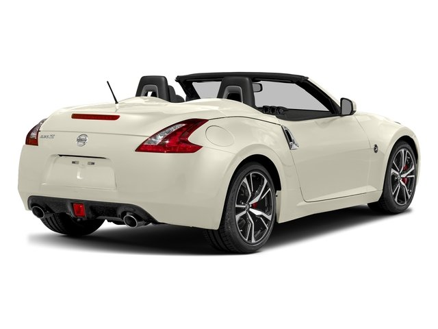 Pearl White 2018 Nissan 370Z Roadster Pictures 370Z Roadster Touring Auto photos rear view