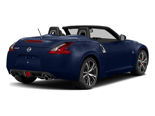Deep Blue Pearl 2018 Nissan 370Z Roadster Pictures 370Z Roadster Touring Auto photos rear view