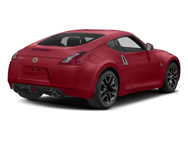 Solid Red 2018 Nissan 370Z Coupe Pictures 370Z Coupe Sport Manual photos rear view