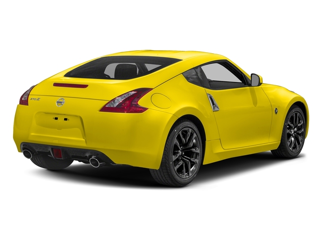 Chicane Yellow 2018 Nissan 370Z Coupe Pictures 370Z Coupe Sport Manual photos rear view