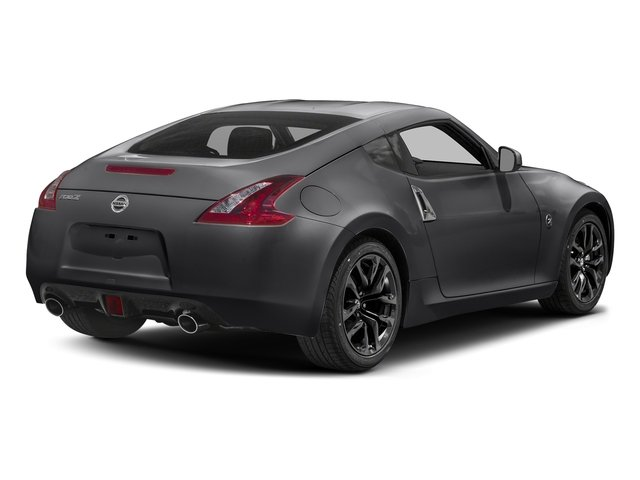 Magnetic Black 2018 Nissan 370Z Coupe Pictures 370Z Coupe Sport Manual photos rear view
