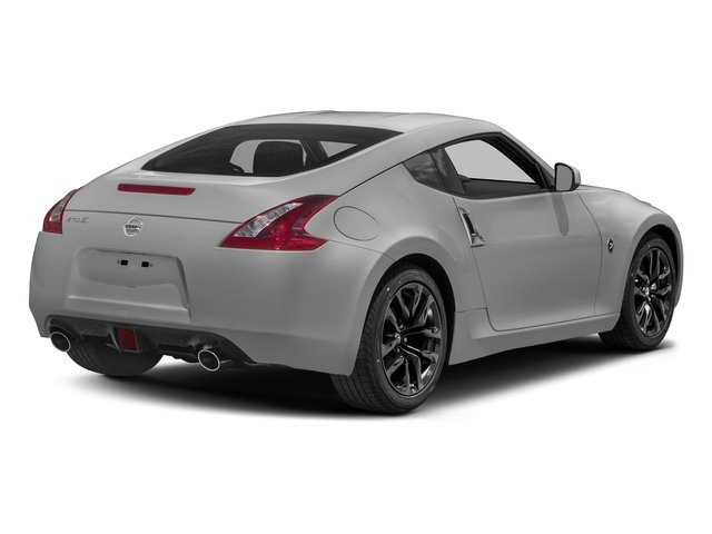 Brilliant Silver 2018 Nissan 370Z Coupe Pictures 370Z Coupe Sport Manual photos rear view