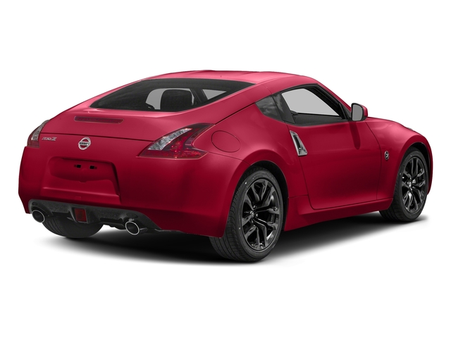 Passion Red 2018 Nissan 370Z Coupe Pictures 370Z Coupe Sport Manual photos rear view