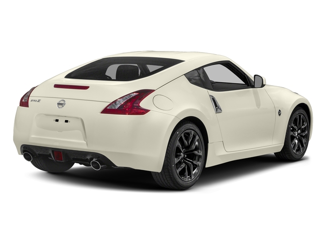 Pearl White 2018 Nissan 370Z Coupe Pictures 370Z Coupe Sport Manual photos rear view
