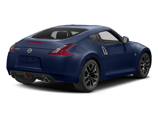 Deep Blue Pearl 2018 Nissan 370Z Coupe Pictures 370Z Coupe Sport Manual photos rear view