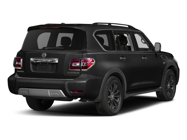 Super Black 2018 Nissan Armada Pictures Armada 4x2 Platinum photos rear view