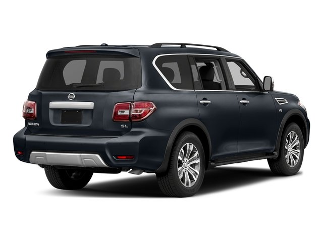 Hermosa Blue 2018 Nissan Armada Pictures Armada 4x2 SL photos rear view