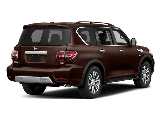 Mocha Almond 2018 Nissan Armada Pictures Armada 4x2 SL photos rear view