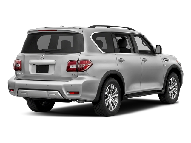 Brilliant Silver 2018 Nissan Armada Pictures Armada 4x2 SL photos rear view