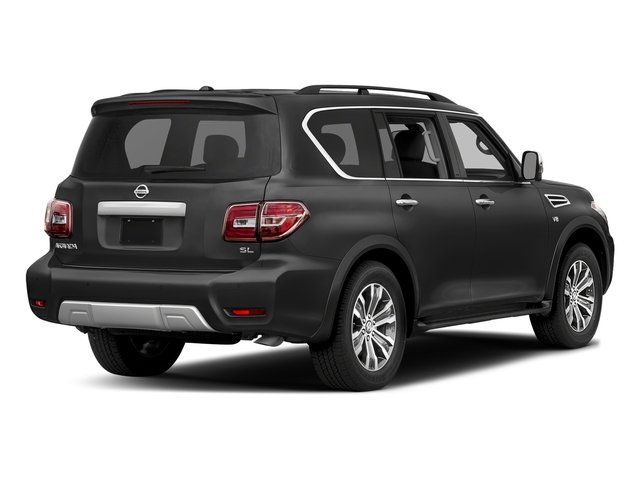 Gun Metallic 2018 Nissan Armada Pictures Armada 4x2 SL photos rear view