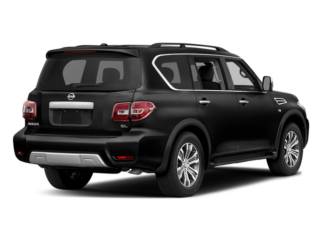 Super Black 2018 Nissan Armada Pictures Armada 4x2 SL photos rear view