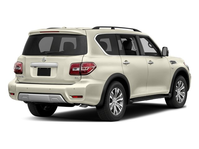 Pearl White 2018 Nissan Armada Pictures Armada 4x2 SL photos rear view
