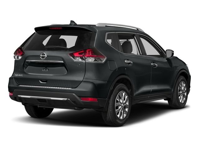 Magnetic Black 2018 Nissan Rogue Pictures Rogue FWD S photos rear view
