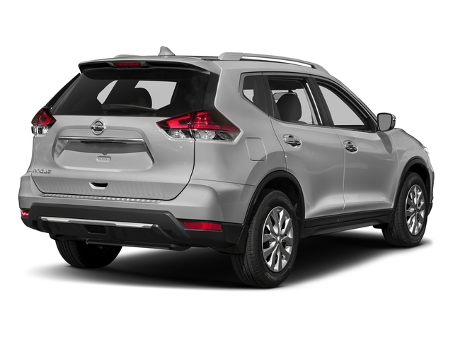 Brilliant Silver 2018 Nissan Rogue Pictures Rogue FWD S photos rear view