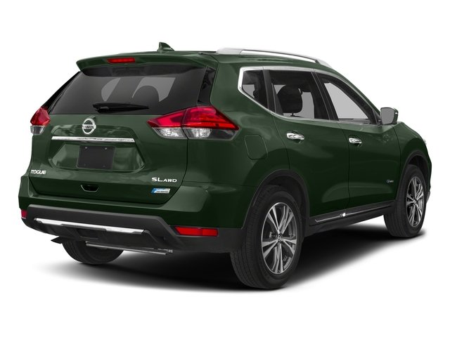 Midnight Pine 2018 Nissan Rogue Pictures Rogue FWD SL Hybrid photos rear view