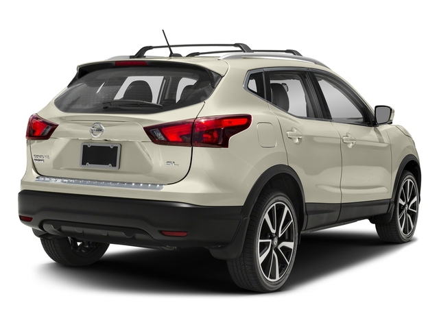Pearl White 2018 Nissan Rogue Sport Pictures Rogue Sport Utility 4D SL AWD photos rear view