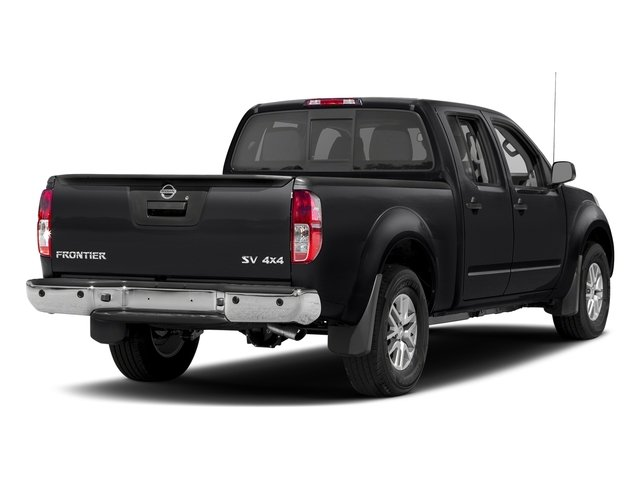 Magnetic Black 2018 Nissan Frontier Pictures Frontier Crew Cab 4x2 SV V6 Auto Long Bed photos rear view