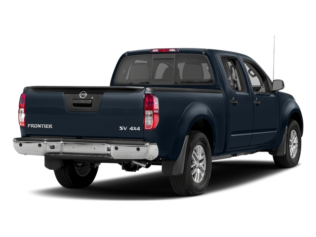 Arctic Blue Metallic 2018 Nissan Frontier Pictures Frontier Crew Cab 4x2 SV V6 Auto Long Bed photos rear view