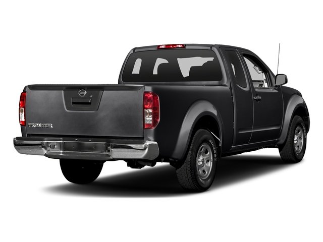 Magnetic Black 2018 Nissan Frontier Pictures Frontier King Cab 4x2 S Auto photos rear view