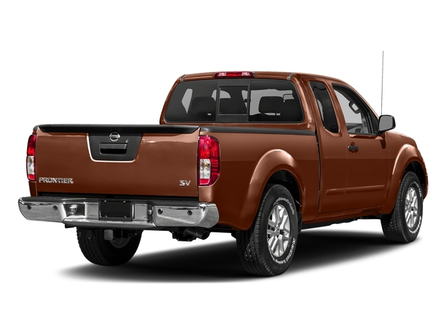 Forged Copper 2018 Nissan Frontier Pictures Frontier King Cab 4x2 SV V6 Auto photos rear view